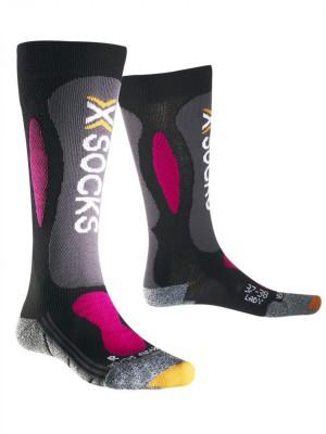 Женские носки X-SOCKS SKI CARVING SILVER