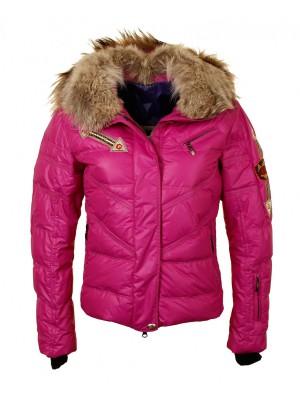 Куртка женская ARROW EMMEGI с мехом на воротнике и капюшоне