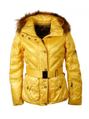 Куртка женская JENNY EMMEGI с мехом на воротнике
