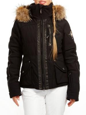 Куртка женская MEGANJS с мехом на капюшоне EMMEGI