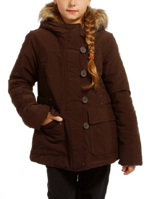 Куртка детская GIRL ZIP HOOD JACKET CAMPAGNOLO