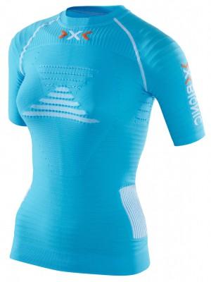 Белье: термофутболка женская EFFEKTOR POWER RUNNING SHIRT SHORT X с коротким рукавом для бега