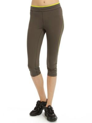 Капри женские для бега и фитнеса Sprint running 3/4 CASALL