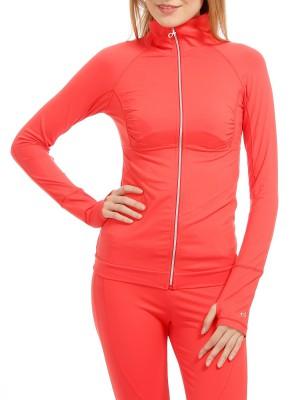 Олимпийка женская для занятий спортом Hooded full zip DEHA