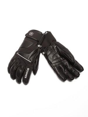 Перчатки мужские кожаные Pascal R-TEX® XT BOGNER на искусственном меху