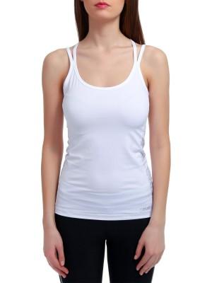 Майка женская Word of yoga straptank CASALL для йоги с перекрещивающимися сзади бретельками