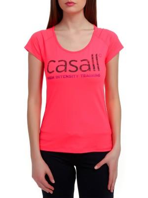 Футболка женская эластичная Unit Tee CASALL для фитнеса