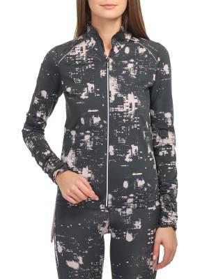 Олимпийка женская принтованная Midtown Jacket CASALL для занятий спортом