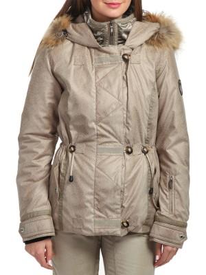 Куртка горнолыжная женская с мехом BROOKEU EMMEGI