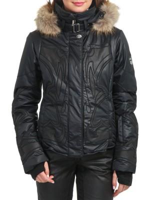 Куртка горнолыжная женская с мехом DIVAP EMMEGI