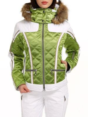 Куртка горнолыжная женская с мехом CARAN EMMEGI