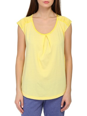 Майка T-Shirt DEHA хлопковая с драпировкой