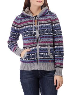 Кардиган женский на молнии Knitted Pullover CAMPAGNOLO