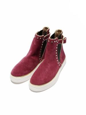 Ботинки женские замшевые JUST CAVALLI