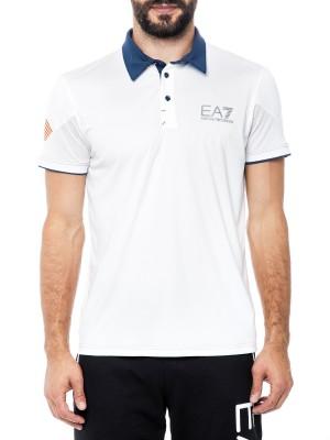 Поло мужское для тренировок Tennis Polo Shirt EA7 Emporio Armani