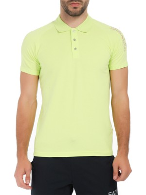 Поло мужское Train Visibility Polo Shirt EA7 Emporio Armani