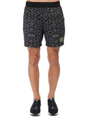 Шорты мужские для тренировок Ventus7 Shorts EA7 Emporio Armani