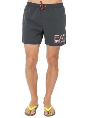 Шорты мужские пляжные Sea World Visibil Boxer EA7 Emporio Armani