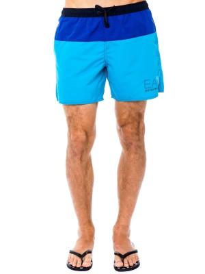 Шорты мужские пляжные Sea World Shaded Boxer EA7 Emporio Armani