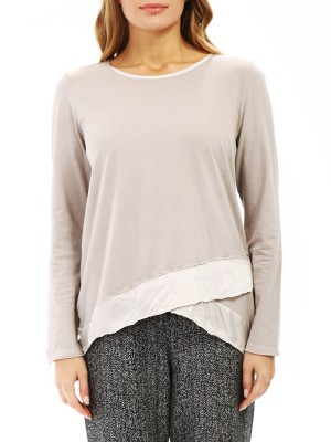 Лонгслив женский Satin Long Sleeve T-shirt DEHA