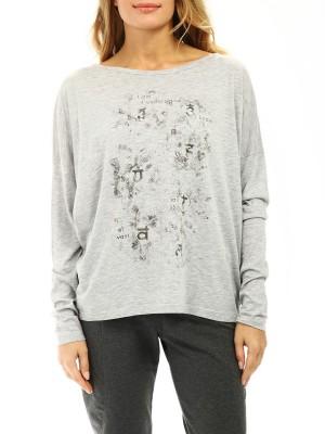 Лонгслив женский для йоги Yoga Long T-shirt DEHA