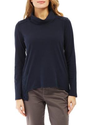 Лонгслив женский Neck Long Sleeve T-shirt DEHA