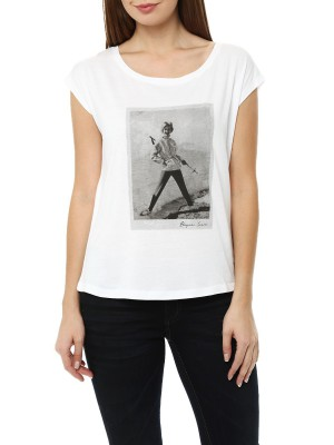 Футболка женская Photoprint T-shirt BOGNER JEANS