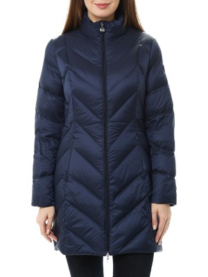 Пальто пуховое женское EA7 EMPORIO ARMANI