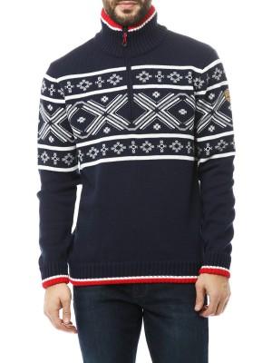 Свитер мужской с водооотталкивающей пропиткой Knitted Pullover CMP CAMPAGNOLO
