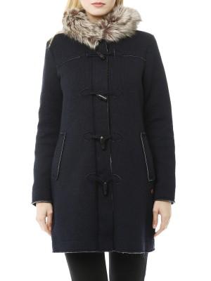 Пальто женское шерстяное Jacket Fix Hood CMP CAMPAGNOLO