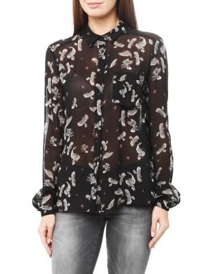 Блуза женская прозрачная JUST CAVALLI