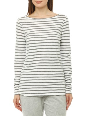 Лонгслив женский Jersey Stripe Shirt JUVIA