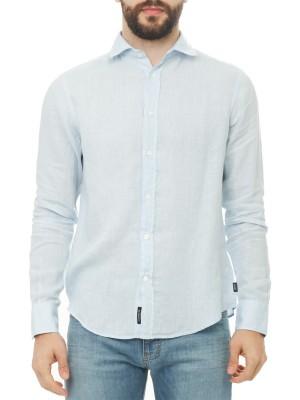 Рубашка мужская из льна ARMANI JEANS