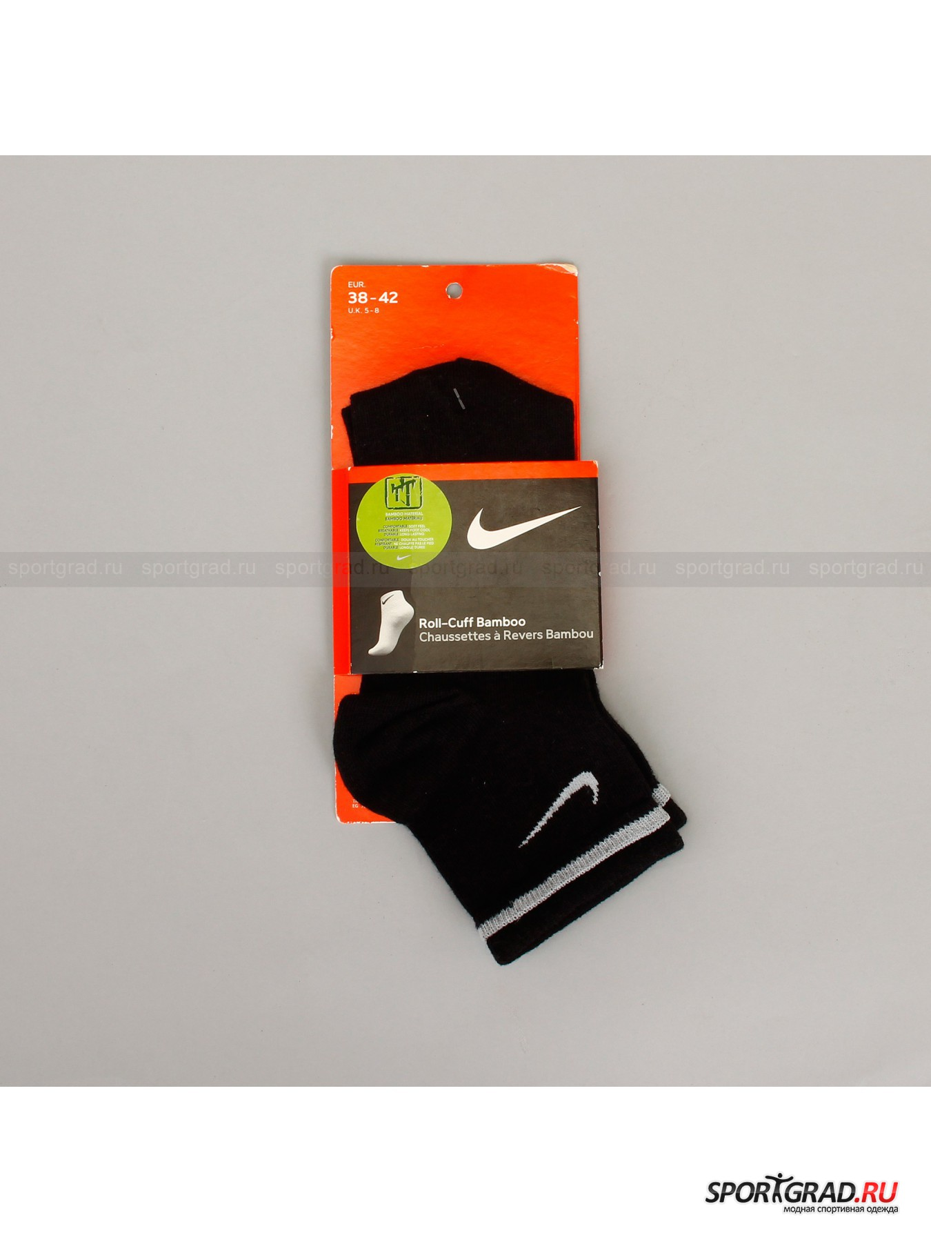 Носки жен. Roll Over Colour Sock With Bamboo NIKE