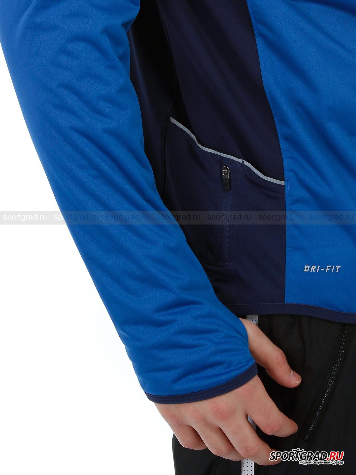 Олимпийка мужская для бега Element Shield Running NIKE от Спортград