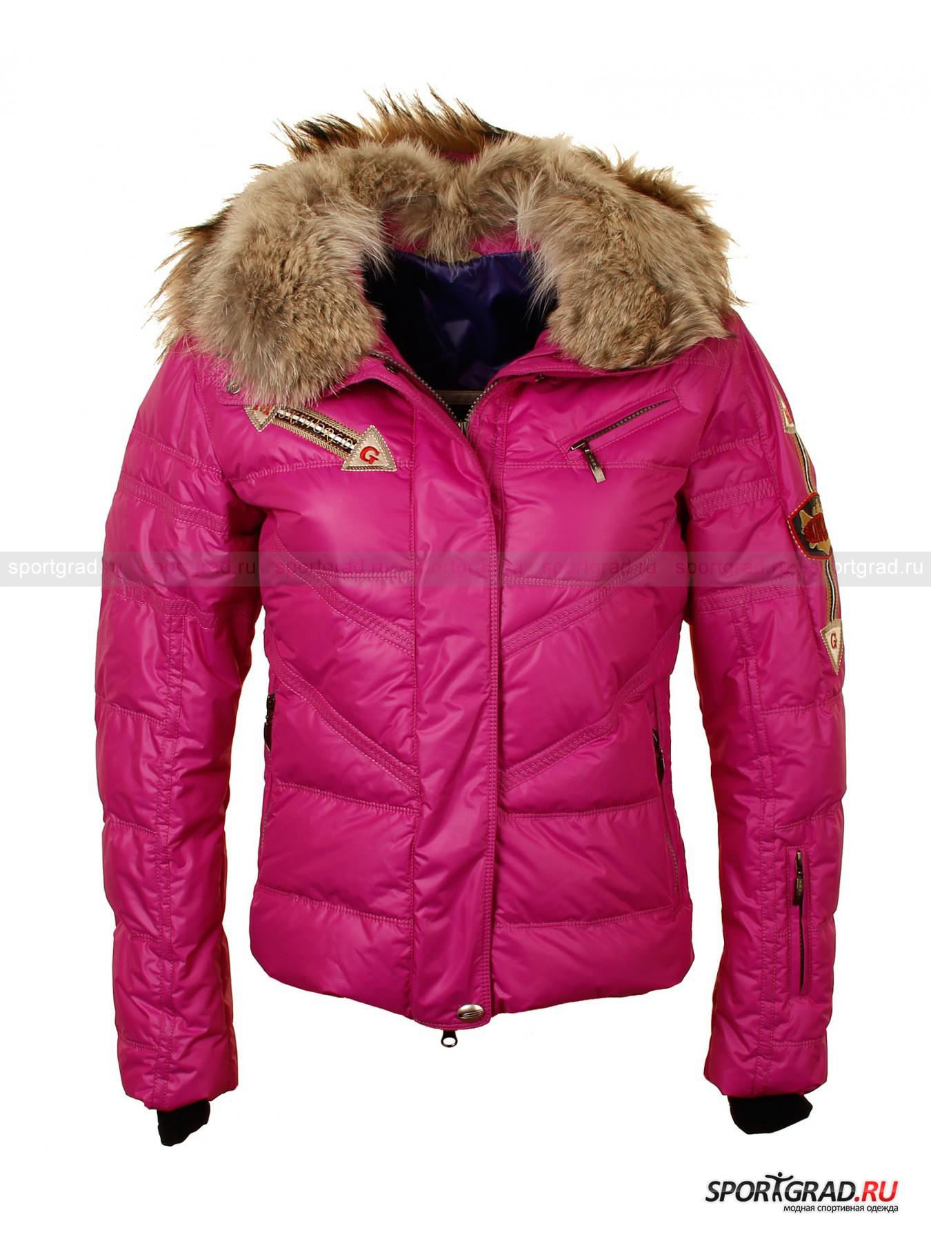 Куртка женская  ARROW EMMEGI с мехом на воротнике и капюшоне от Спортград
