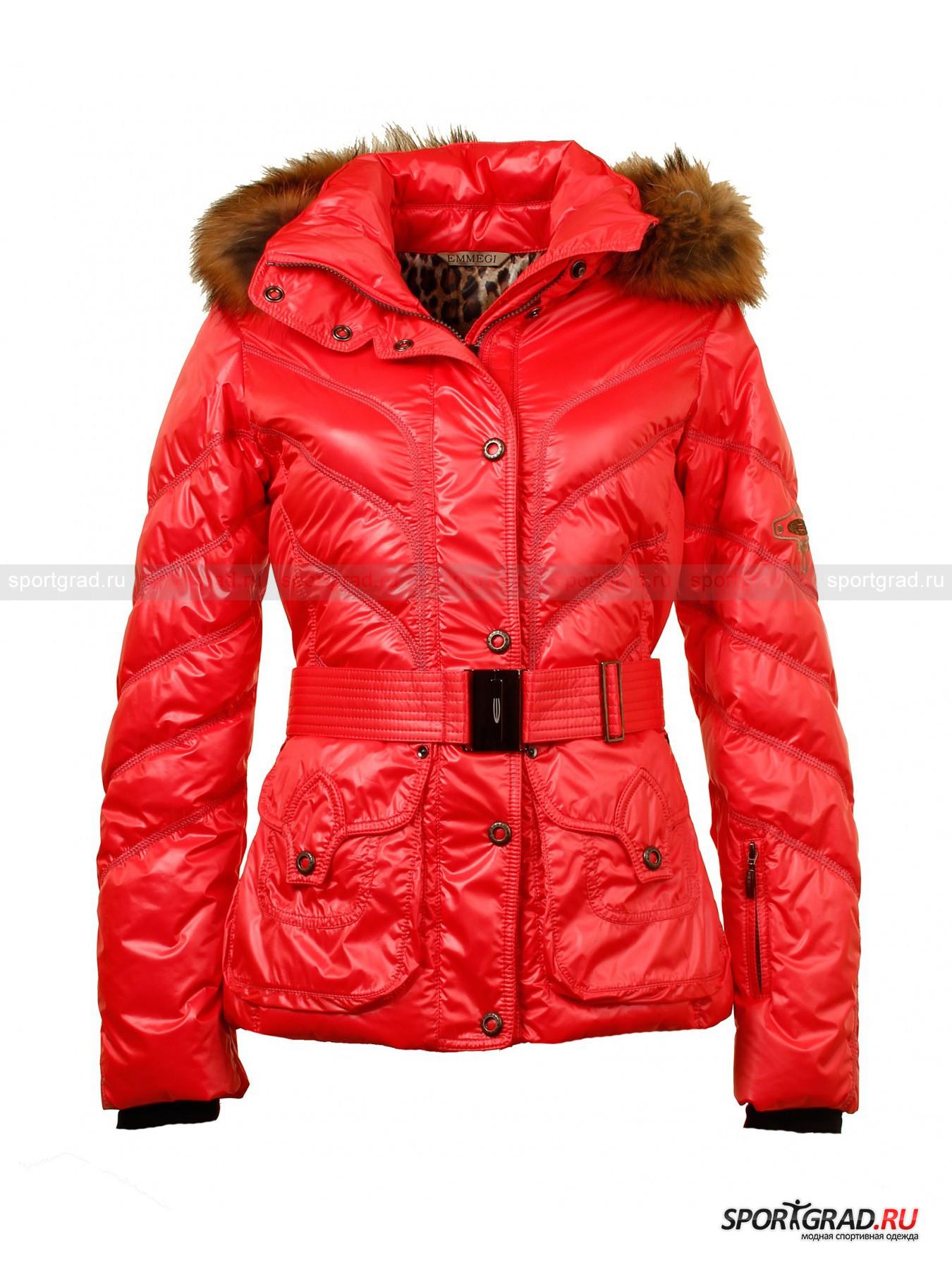 Куртка женская JENNY  EMMEGI с мехом на воротнике от Спортград