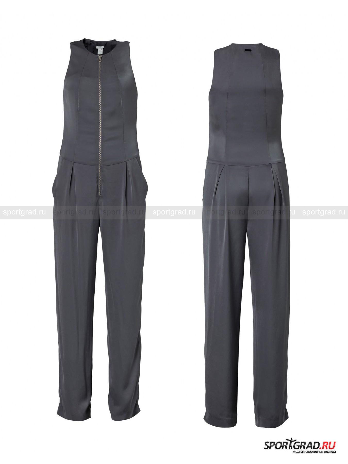 Комбинезон женский на молнии Form jumpsuit SLVR ADIDAS от Спортград
