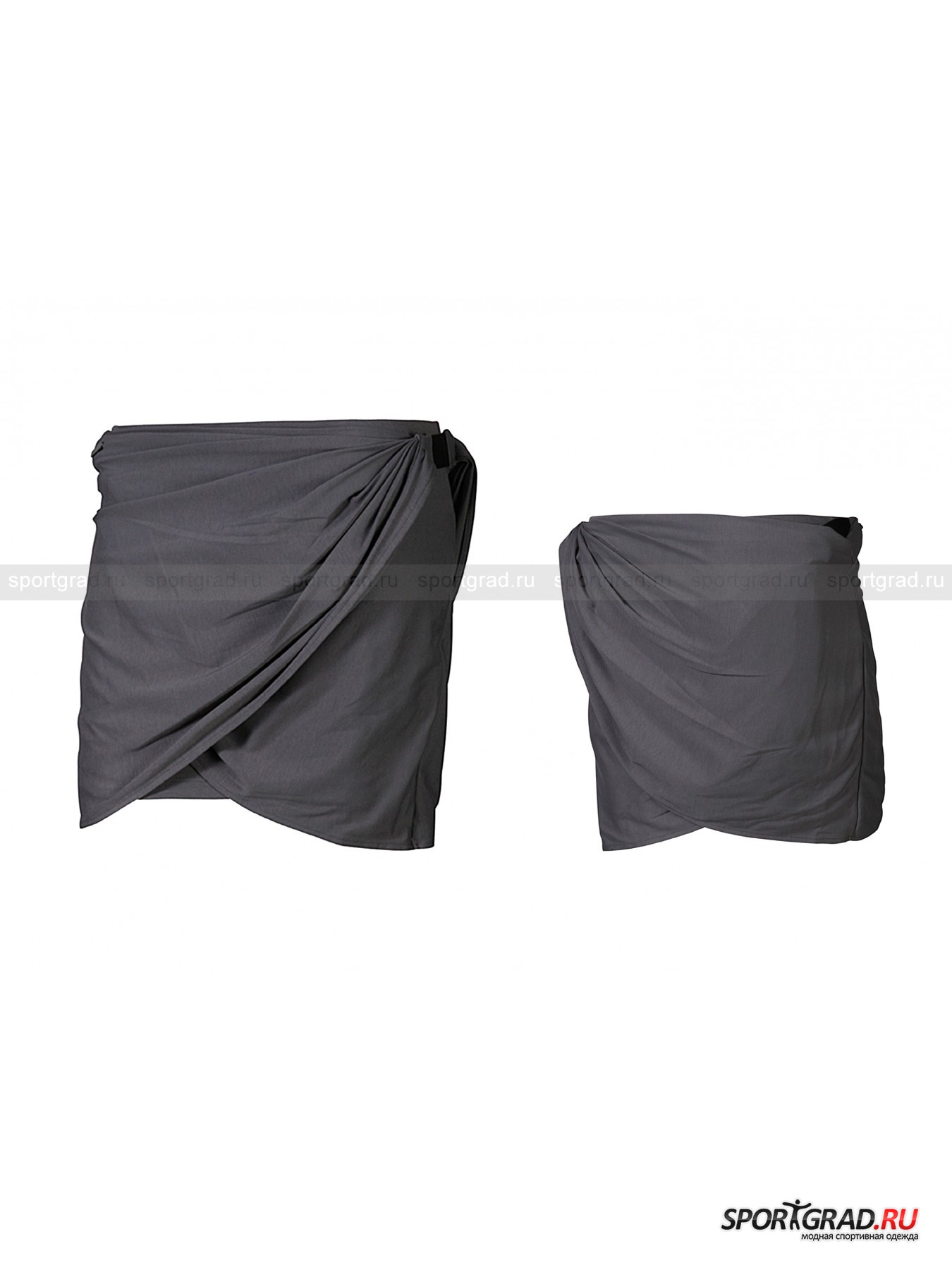 Юбка-трансформер женская хлопковая Draped skirt SLVR ADIDAS от Спортград