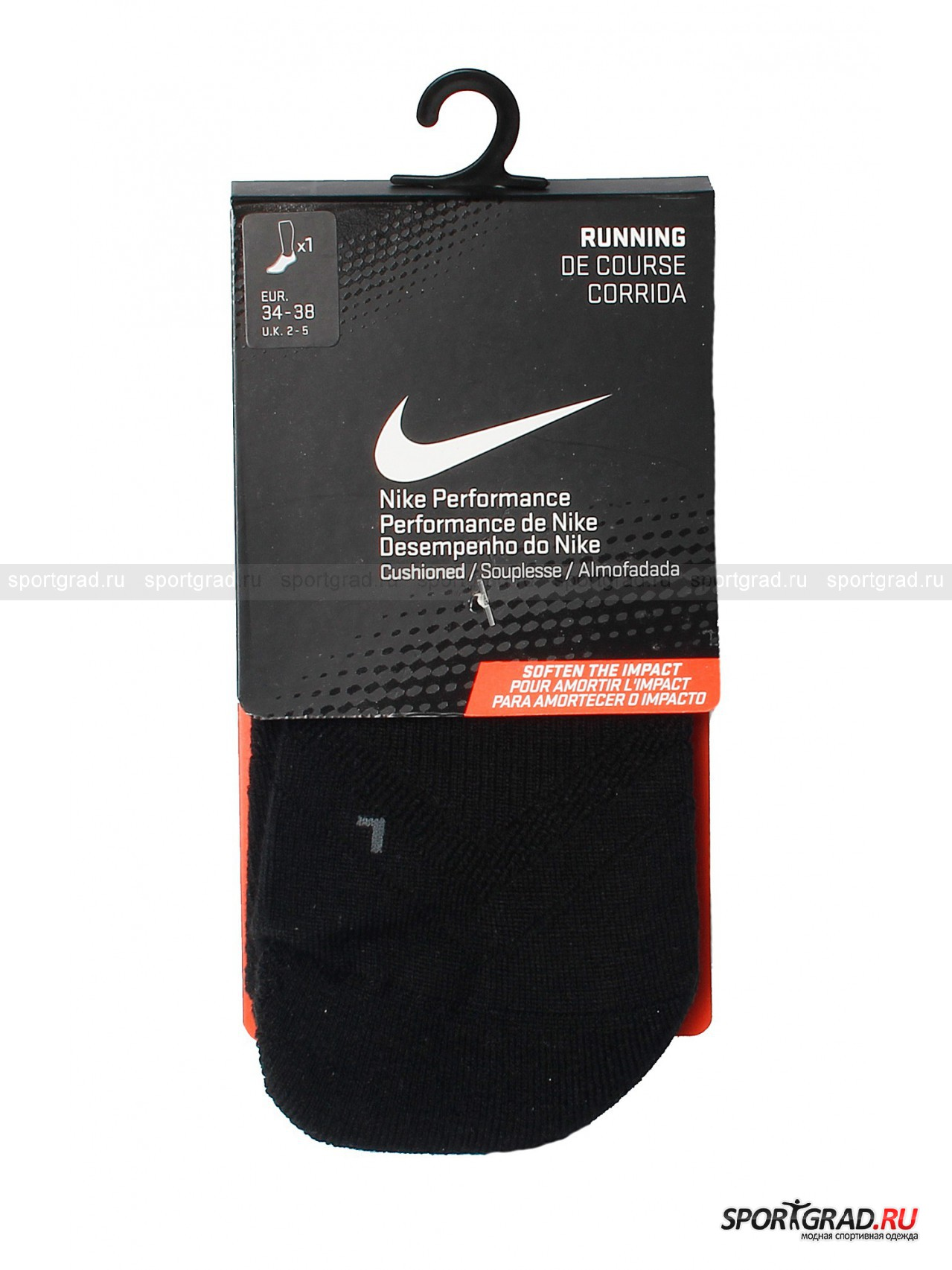 Носки FIT-DRY RUNNING CUSHION NIKE