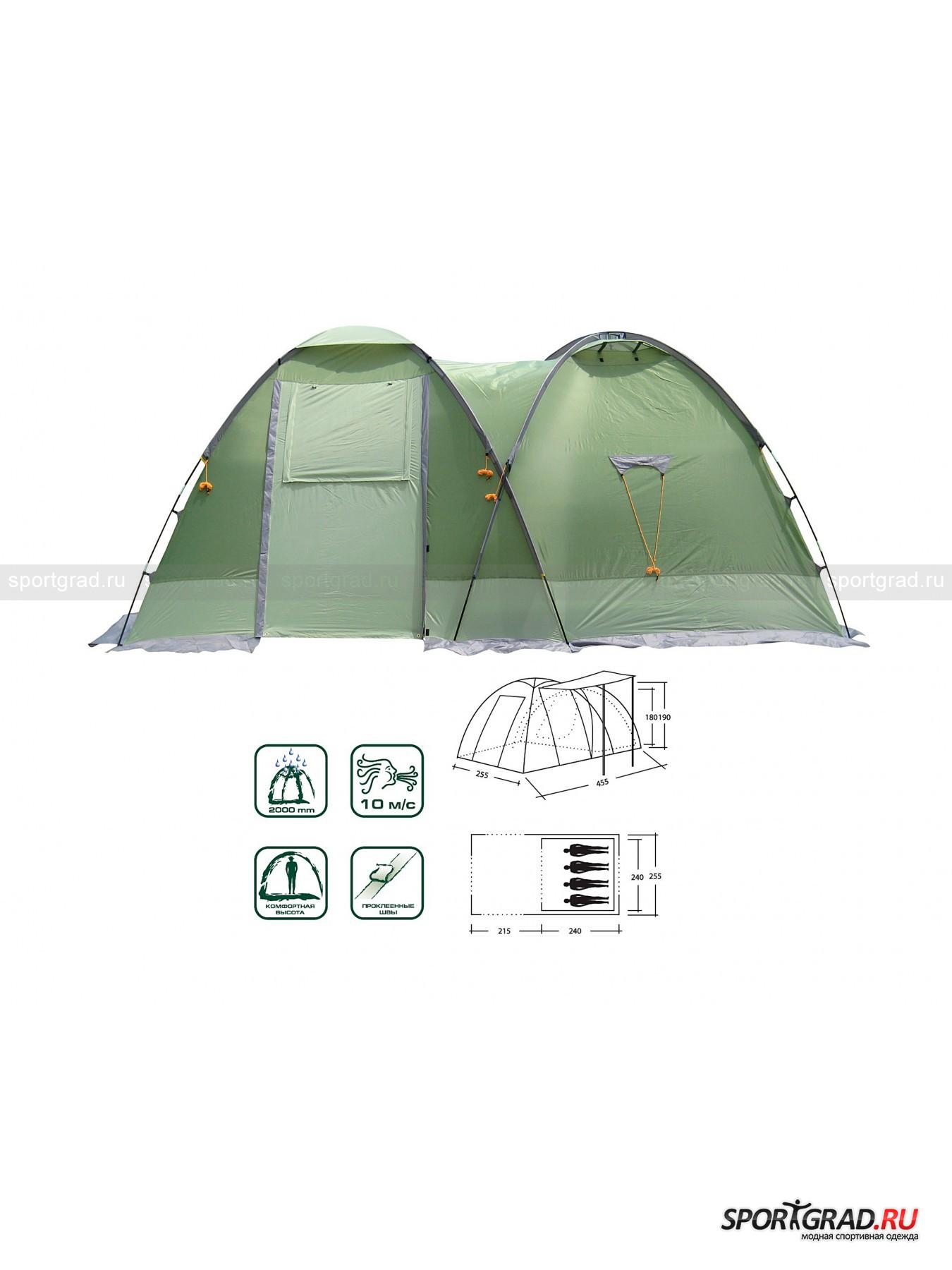 Палатка Toscana 400 MOON CAMP от Спортград