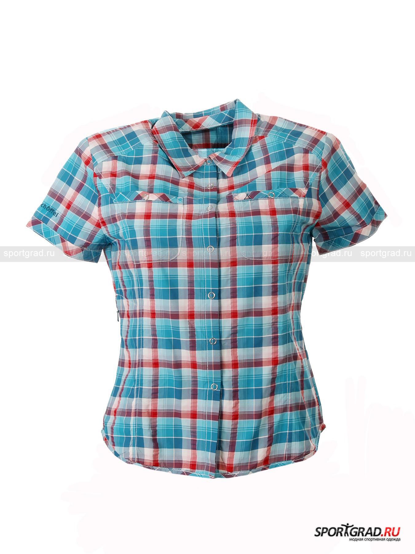 Рубашка женская для города и туризма Karen UV SCHOFFEL от Спортград