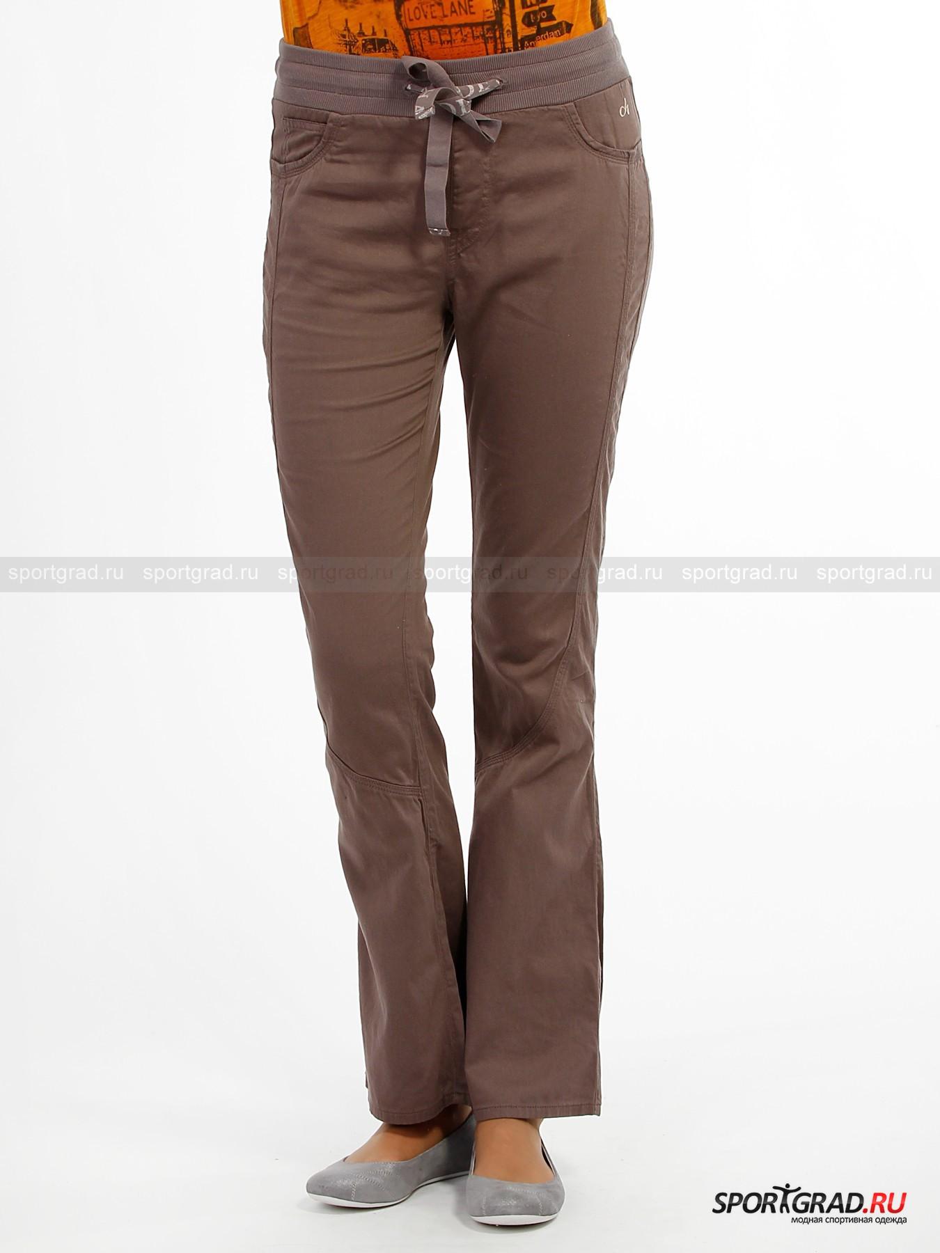 Расклешенные брюки женские