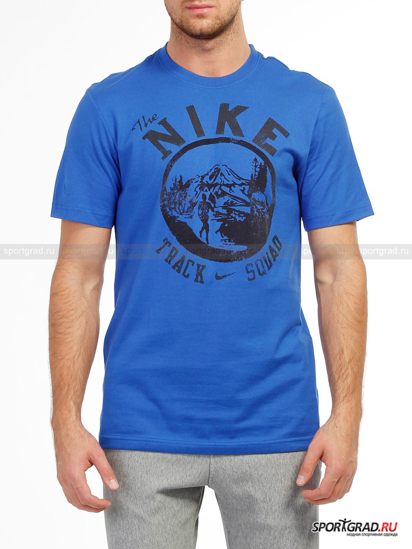 Футболка мужская NIKE TRACK SQUAD NIKE
