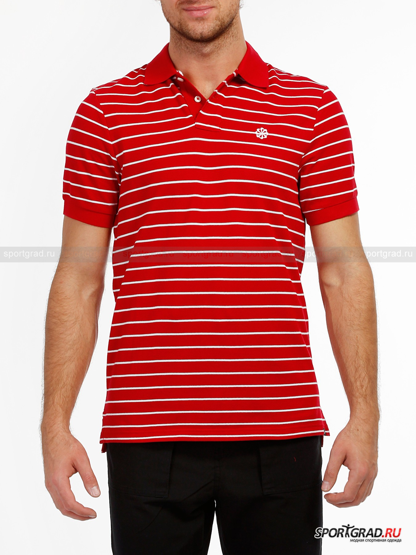Поло мужское NEW STRIPE NIKE GS POLO 1 NIKE