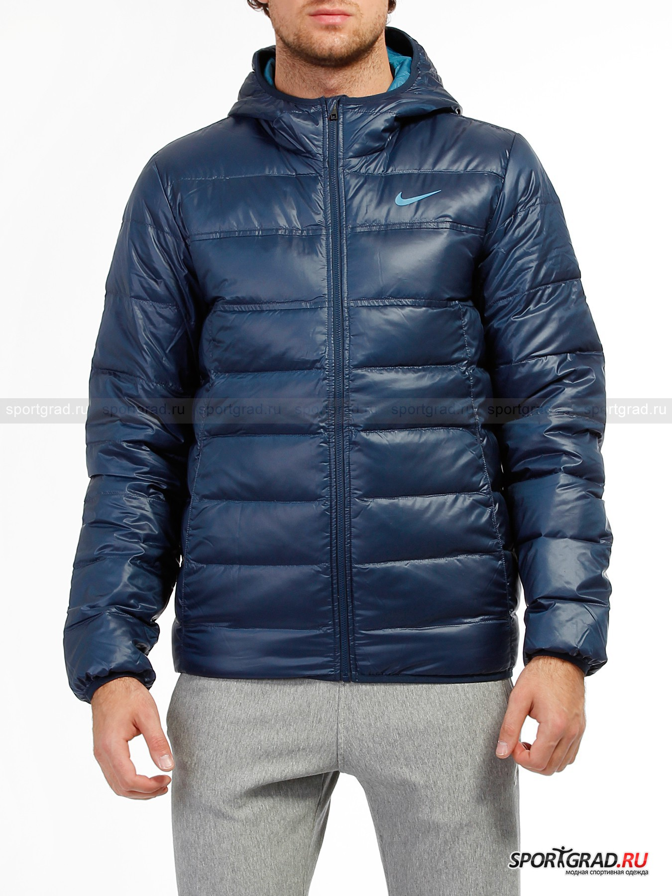 Куртка мужская HOODED LT WT DOWN JACKET NIKE