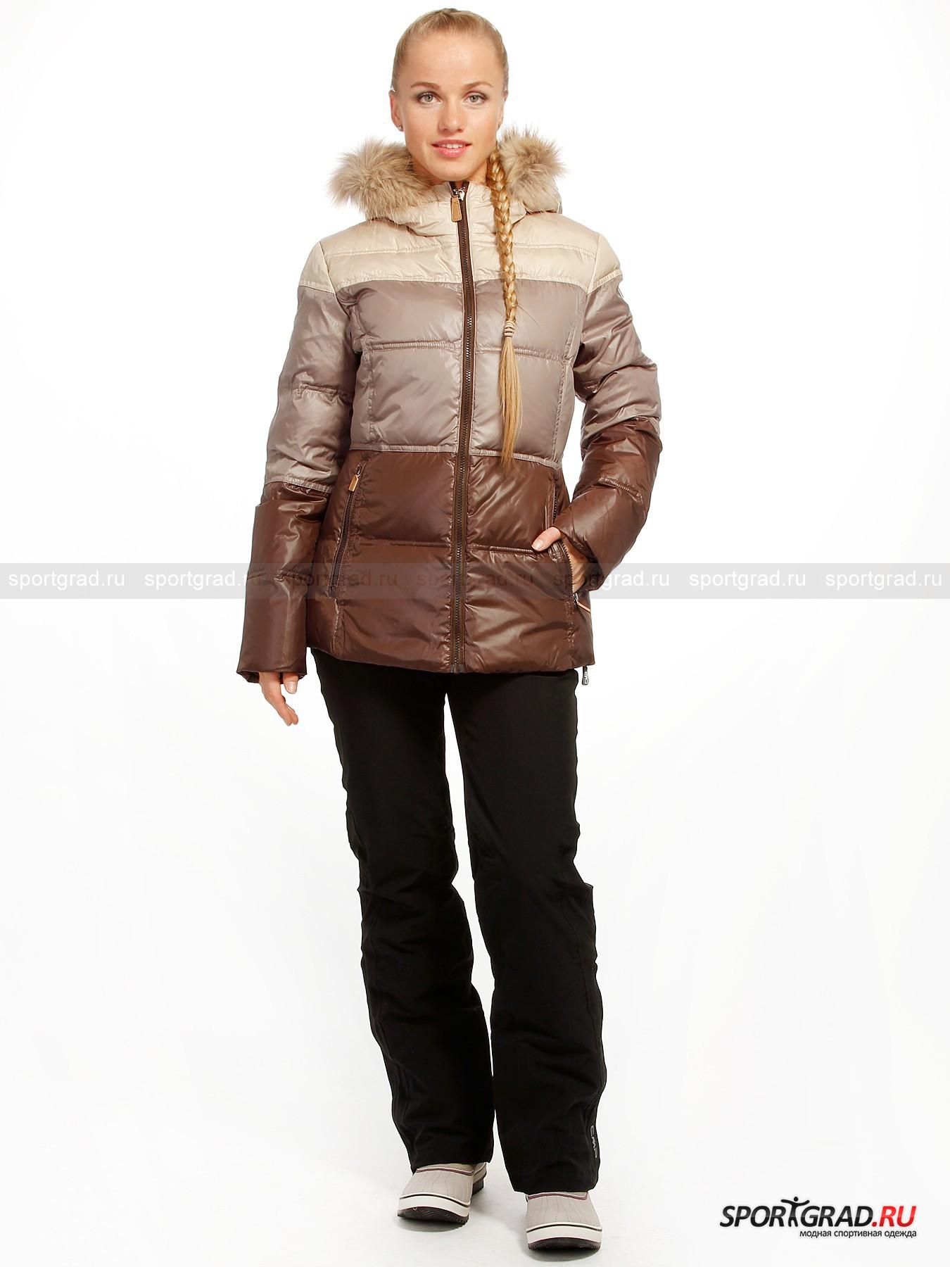Куртка женская  LADY FIX  HOOD JACKET CAMPAGNOLO от Спортград