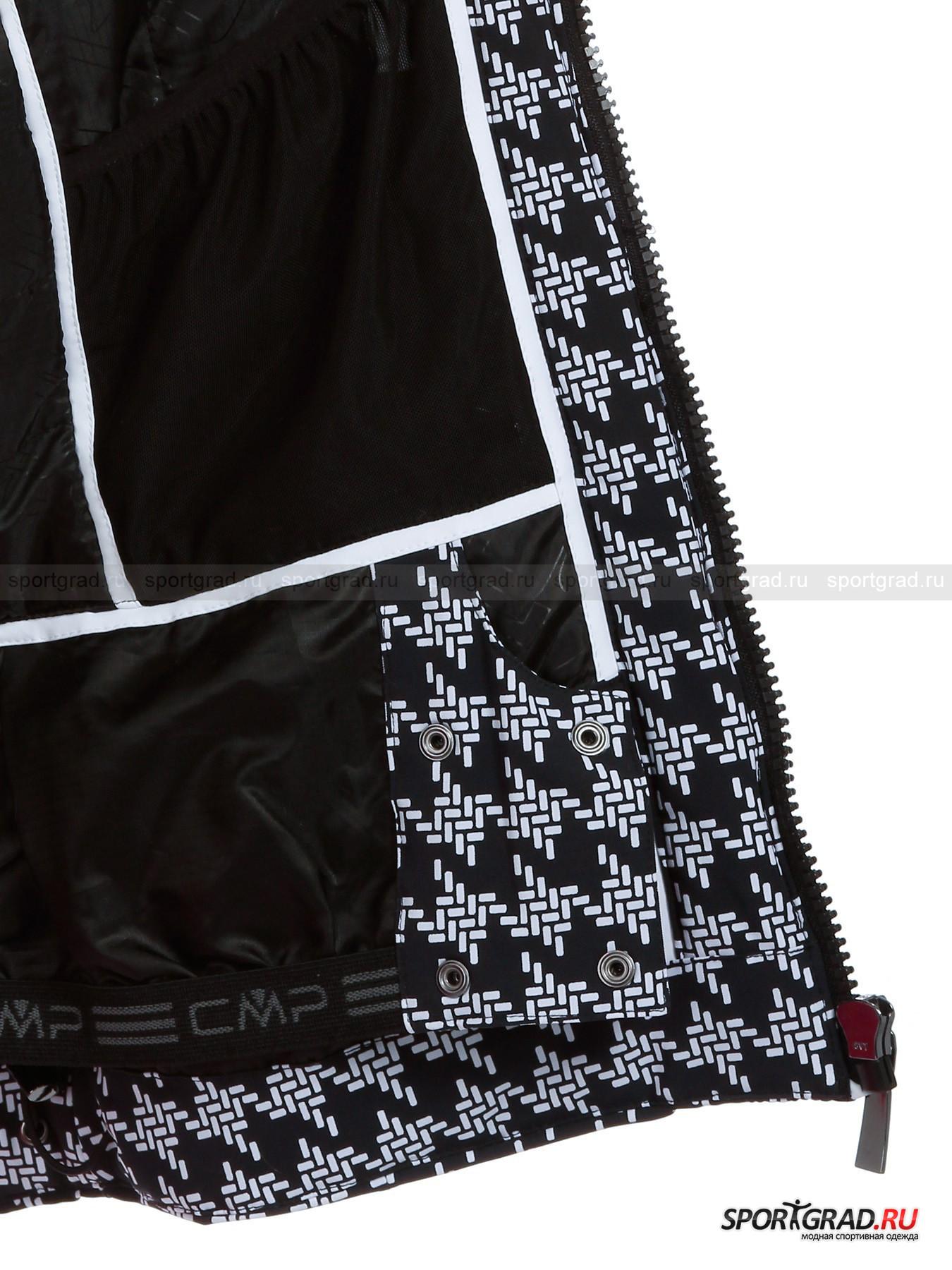 Куртка женская  LADY ZIP HOOD JACKET CAMPAGNOLO от Спортград