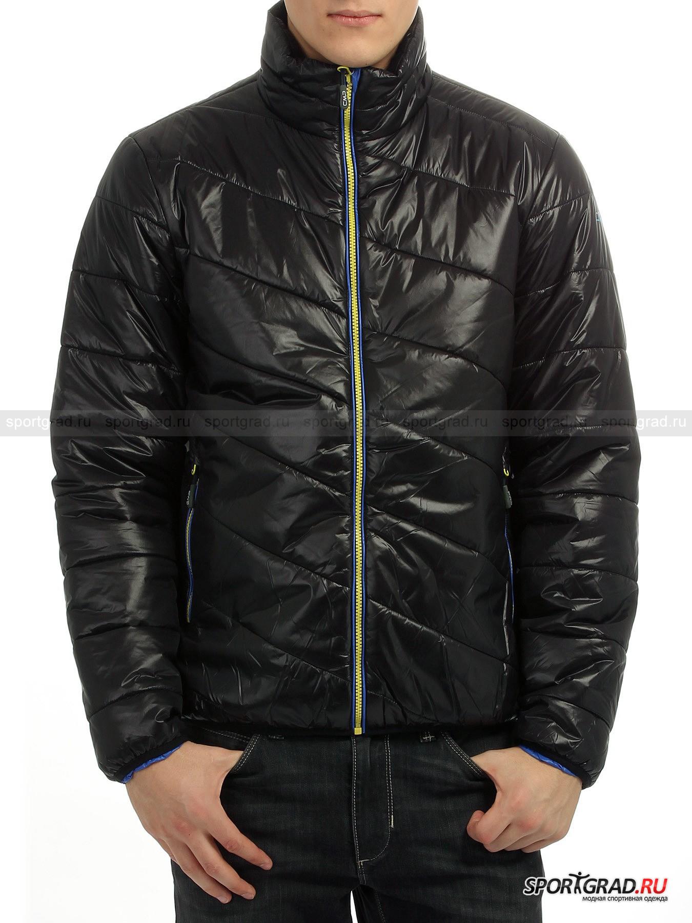 Куртка мужская MAN JACKET CAMPAGNOLOКуртки<br>Мужская куртка MAN JACKET CAMPAGNOLO – модель с неординарным дизайном, лаконичная, но с изюминкой в виде броских  пластиковых молний и яркой окантовкой карманов и полочек. Изделие полностью простегано: рукава горизонтальными строчками, а полочки и спинка – диагональными. Это очень легкая, но теплая куртка, которая практически не ощущается на теле и абсолютно не сковывает движений.  При ее изготовлении применена технология ADVANSA THERMOCOOL: благодаря мультиканальным полым волокнам материала обеспечиваются максимальное влаговыведение и терморегуляция.  Она замечательно подойдет для  разных случаев и ситуаций: тем, кто ездит в автомобиле или в общественном транспорте, просто много перемещается по городу, а также для активного отдыха на природе в зимнее время.<br><br>Модель имеет:<br>- воротник-стойку, закрывающий горло,<br>- втачные рукава,<br>- планку, пришитую под основным замком, для защиты от ветра и потери тепла,<br>- боковые прорезные карманы в рамку, закрывающиеся на яркую молнию,<br>- внутренний прорезной карман на молнии на левой полочке,<br>- низ изделия и края рукавов обработаны обтачкой из эластичного трикотажа.<br>Длина изделия сзади по центру от горловины до низа 73 см, ширина в груди 58 см, длина рукава по нижнему шву 58 см (размер 50).<br><br>Пол: Мужской<br>Возраст: Взрослый<br>Тип: Куртки<br>Рекомендации по уходу: Деликатная стирка в теплой воде без отбеливателей, можно отжимать в центрифуге при низкой температуре. Не рекомендуется гладить.<br>Состав: 100% полиамид, утеплитель 100% полиэстер