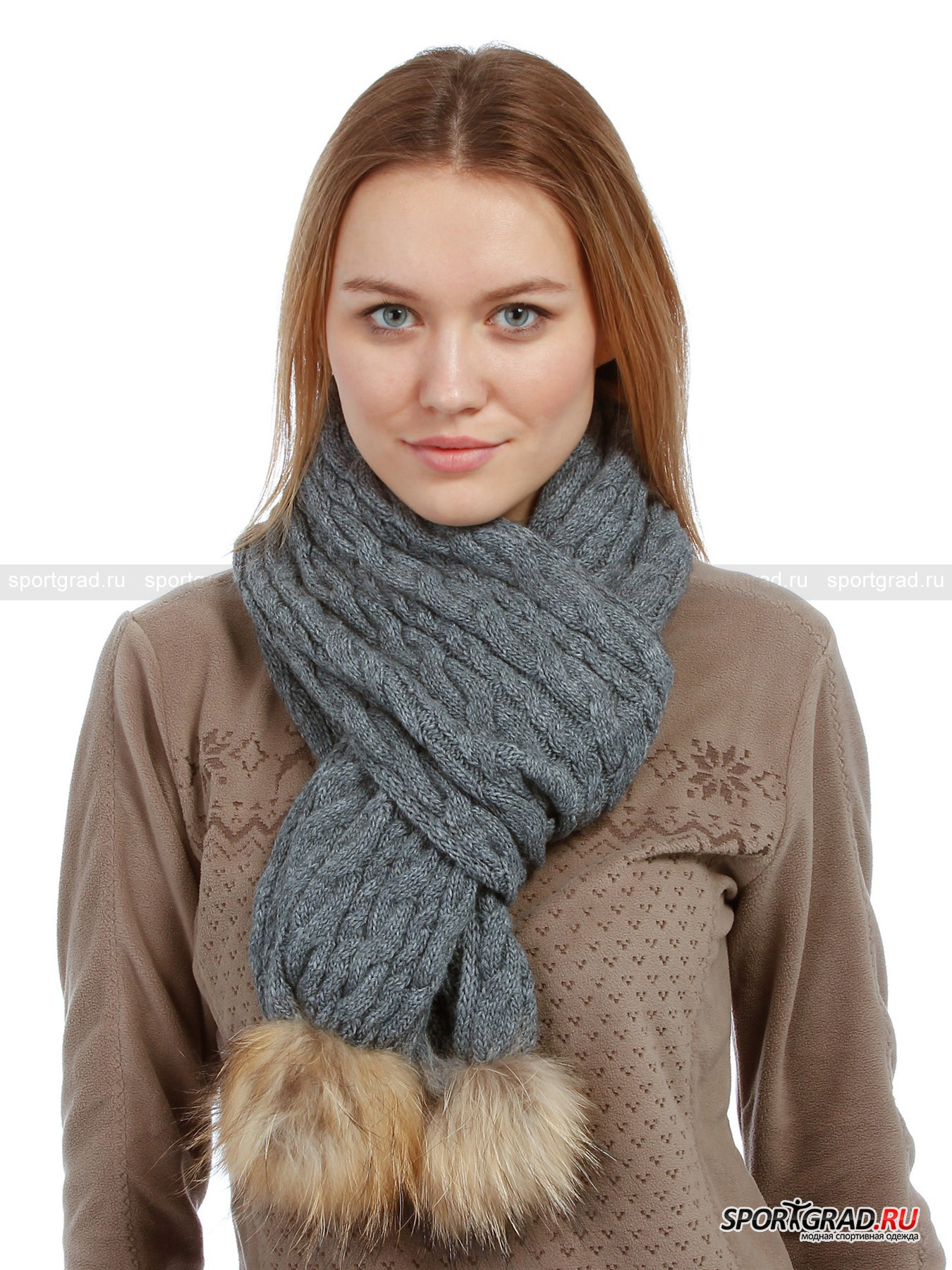 ���� LADY KNITED SCARF CAMPAGNOLO